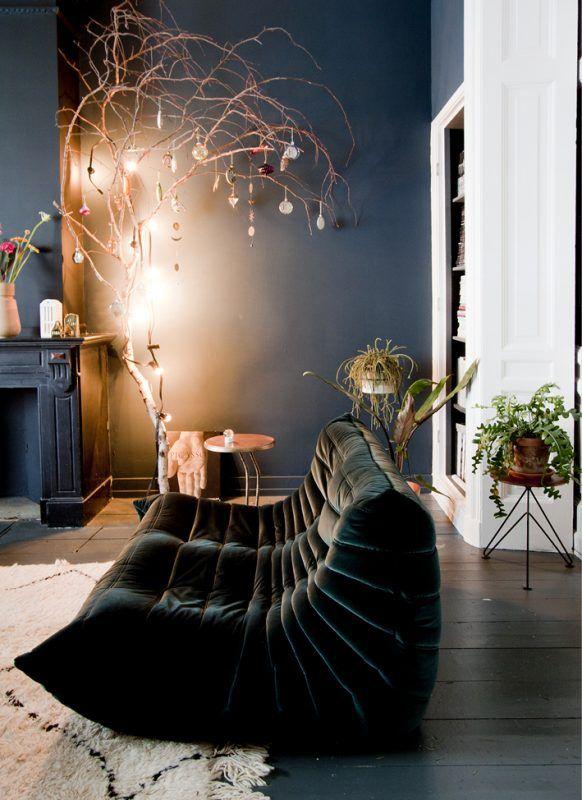 dark blue interior #colors #moodboard