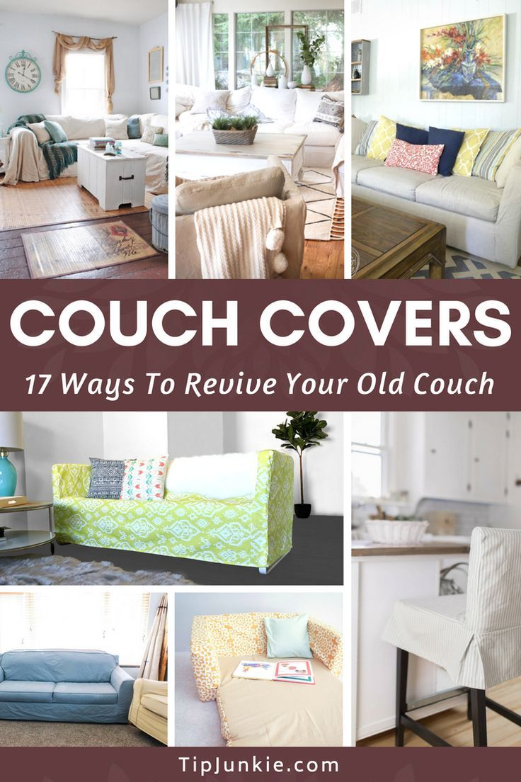 18 Couch Covers To Revive Your Old Couch Fitted Slipcovers Couch