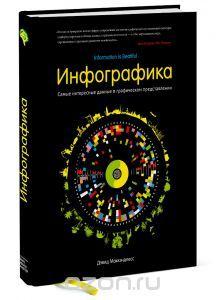 """Книга """"Инфографика. Самые интересные данные в графическом представлении"""" Дэвид Маккэндлесс - купить книгу Information is Beautiful ISBN 978-5-91657-850-8 с доставкой по почте в интернет-магазине Ozon.ru"""