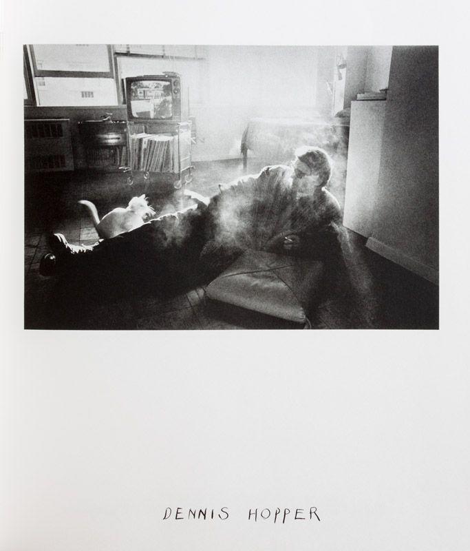Duane Michals portrait of Dennis Hopper