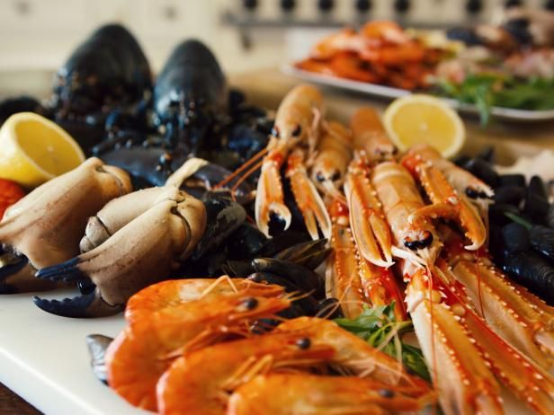 Get Seafood Platter Recipe from Cooking Channel