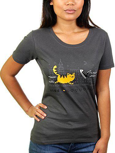 Die neun Leben der Katze - Damen T-Shirt von Kater Likoli.