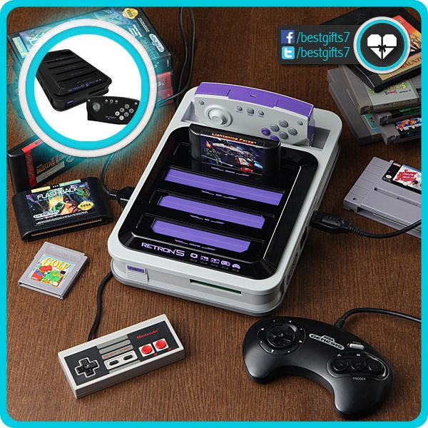 GAMING CONSOLE RETRON 5 - [FORGET EVERYTHING ELSE!]  JUST BUY: http://amzn.to/1iS9Pg5 [like 'n share!]