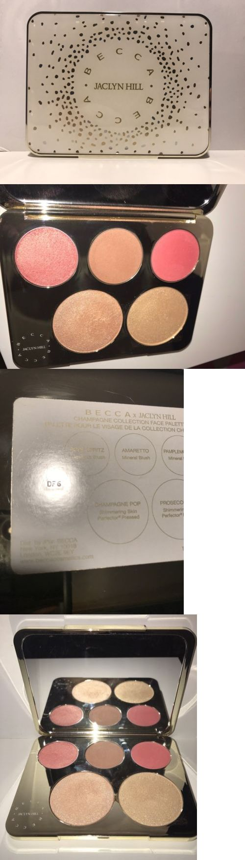 Bronzers and Highlighters: **Becca ~ Jaclyn Hill Champagne Collection Face Palette** -> BUY IT NOW ONLY: $66 on eBay!