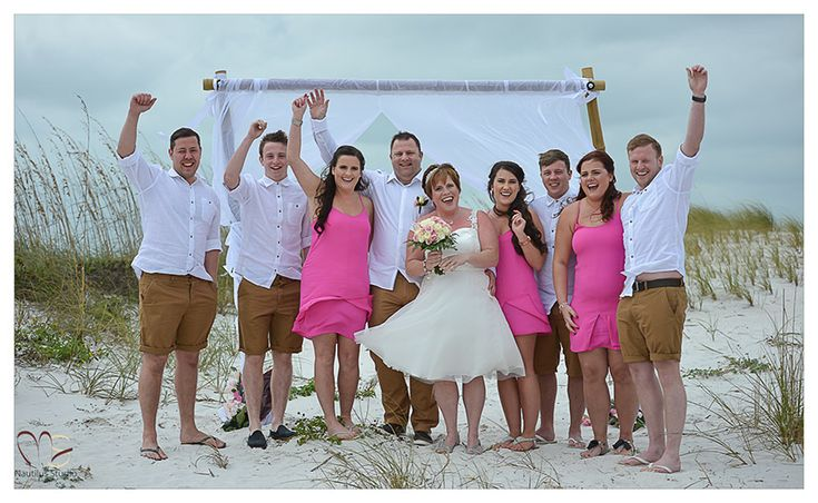 Beach Vow Renewal Ceremony: Clearwater Beach Vow Renewal