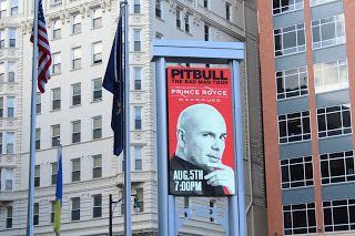 "The Bad Man Tour on Friday August 5 2016 Allentown PA. The 2nd time my family see Pitbull in Concert. Epic and Amazing like our first time. ""Don't Stop The Party!"" Pitbull, Prince Royce, Farruko and Fuego."