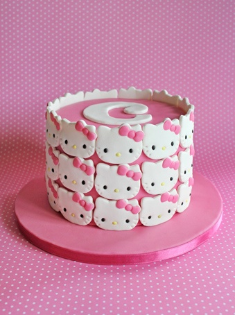 .FINALLY a new, unique idea for a Hello Kitty cake!!! I LOVE IT!