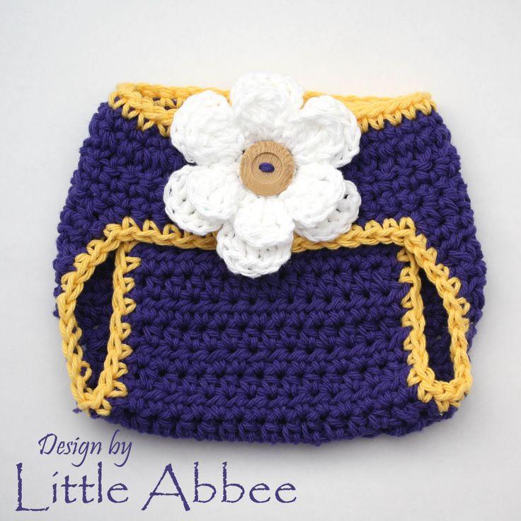 crochet diaper cover free pattern Make the diaper cover ...