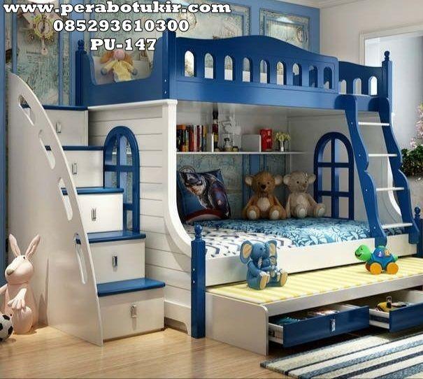 Jual Dipan Kasur Anak Modern Pu 147 Di 2020 Perabot Kamar Tidur