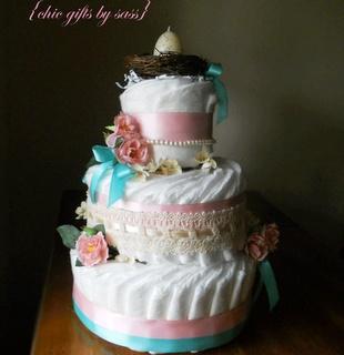 Diaper Cakes Simple