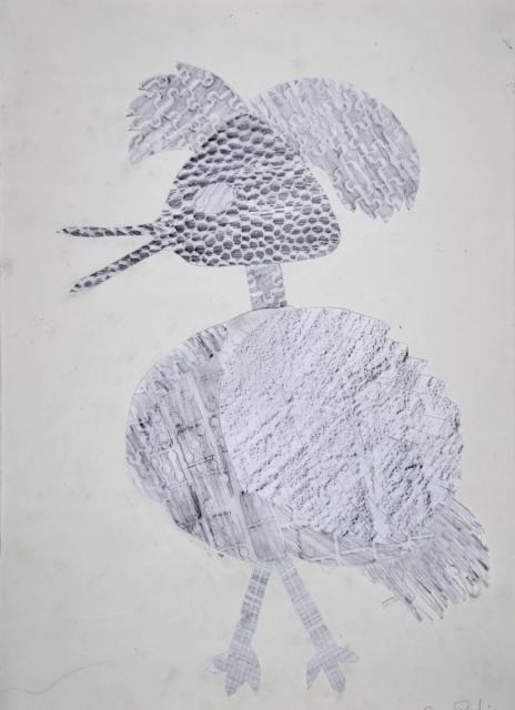 Vogel frottage