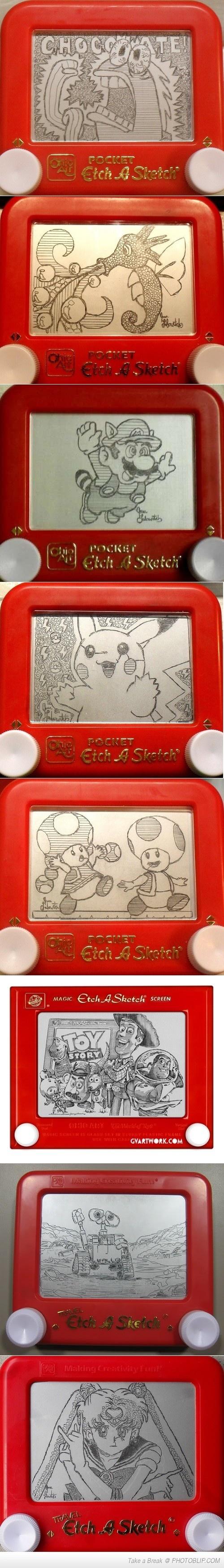 Etch-that-sketch Level - Master