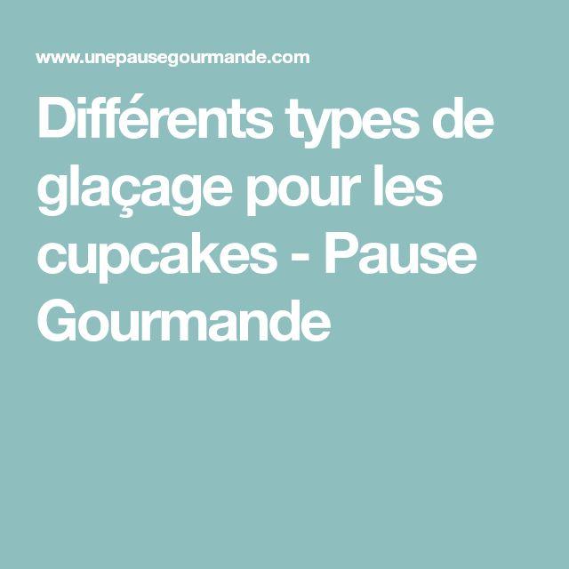 Différents types de glaçage pour les cupcakes - Pause Gourmande