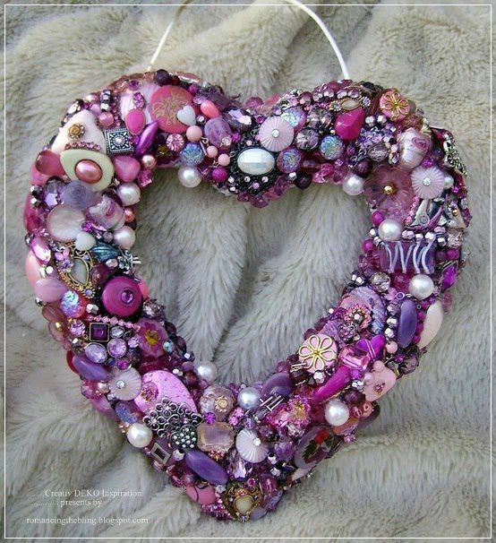 A heart of purple