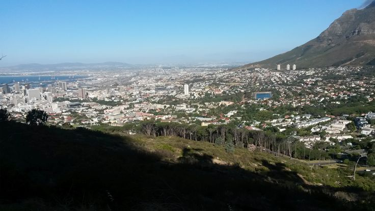 View at the start of lions head