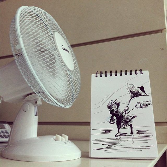 High Winds  18 Creative & Arty Cartoon Bomb Drawings That Will Leave You Amazed • Page 2 of 5 • BoredBug