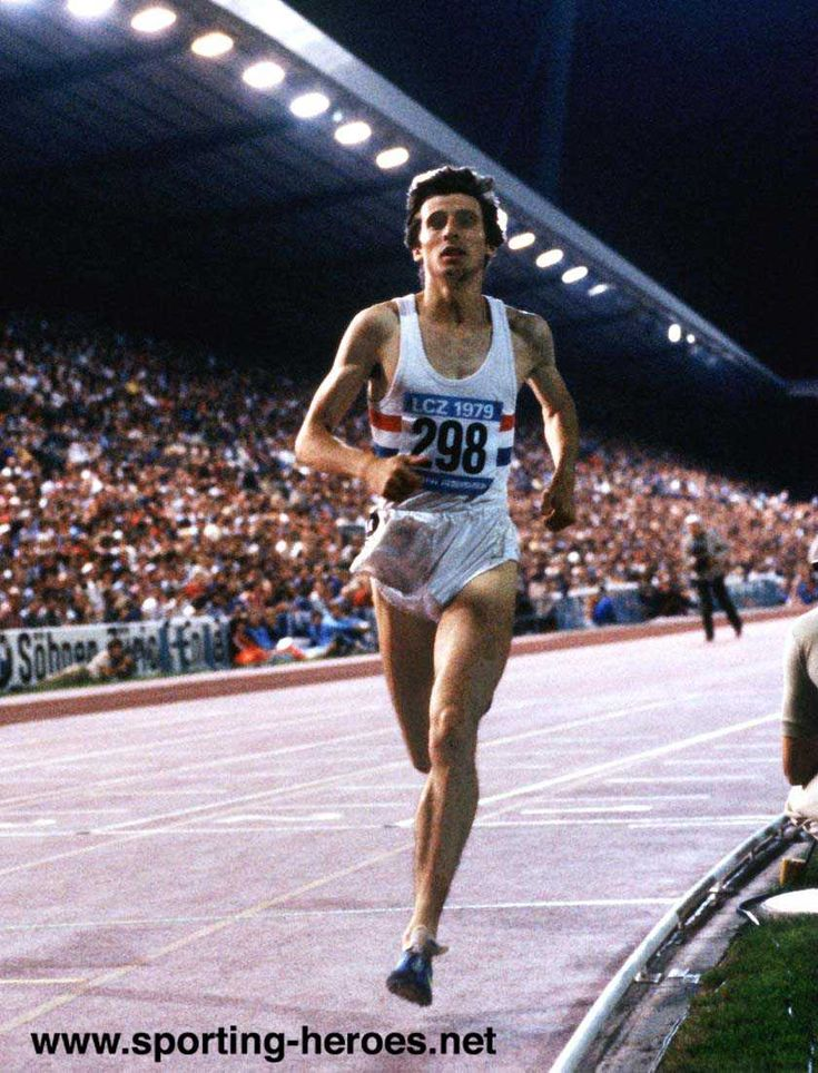 Seb Coe, Sheffield middle distance runner. His rivalry with Ovett was headline news.