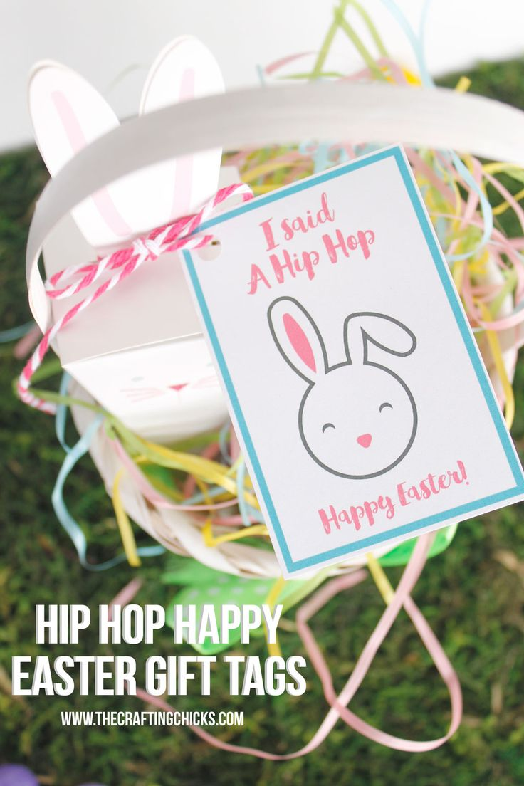 391 best easter images on pinterest easter ideas easter food and hip hop happy easter gift tags negle Choice Image