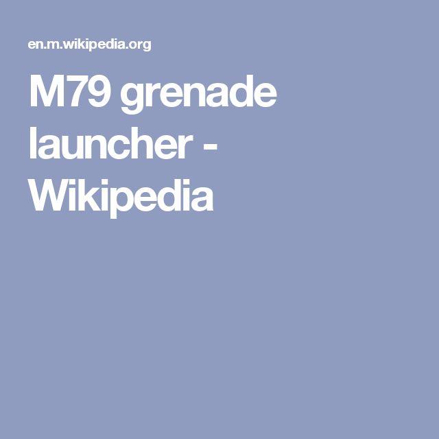 M79 grenade launcher - Wikipedia