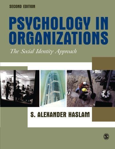 Psychology in Organizations by Haslam, S Alexander. (SAGE Publications Ltd,2004) [Paperback] 2ND EDITION http://www.newlimitededition.com/psychology-in-organizations-by-haslam-s-alexander-sage-publications-ltd2004-paperback-2nd-edition/ Psychology in Organizations by Haslam, S Alexander. . SAGE, 2004 2nd edition.