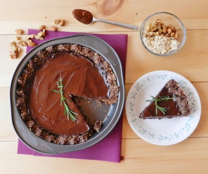 Chocolate Lavender Tart | Baking (everything choccy related mmm) | Pi ...