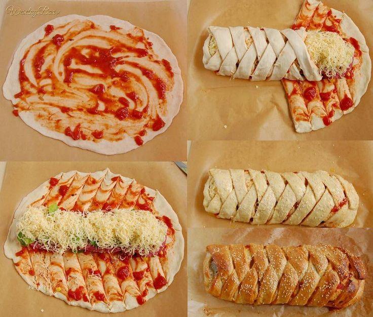 Zawijana pizza od zaraz!