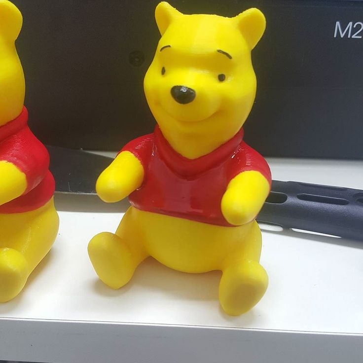 Something we liked from Instagram! #pooh #3dprint #3dprinting #3dprinter #figure #painting #gift #christmas  여자친구 줄 크리스마스 선물의 일부분  굳굳 색칠하는게 생각보다 진짜 어렵네... 이제 트리 장식 만들기 시작!  Painting is so difficult... by songil_lee check us out: http://bit.ly/1KyLetq