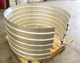 Aluminium extrusion bending @ www.barnshaws.com