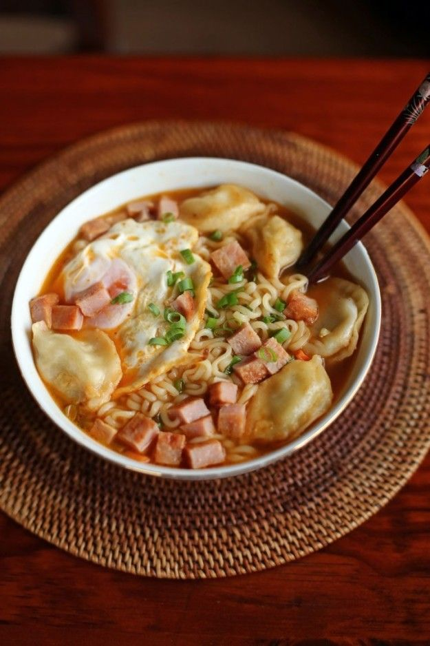 Spam Breakfast Ramen | 17 Foods That Prove Spam Is Delicious And Totally Fine To Eat