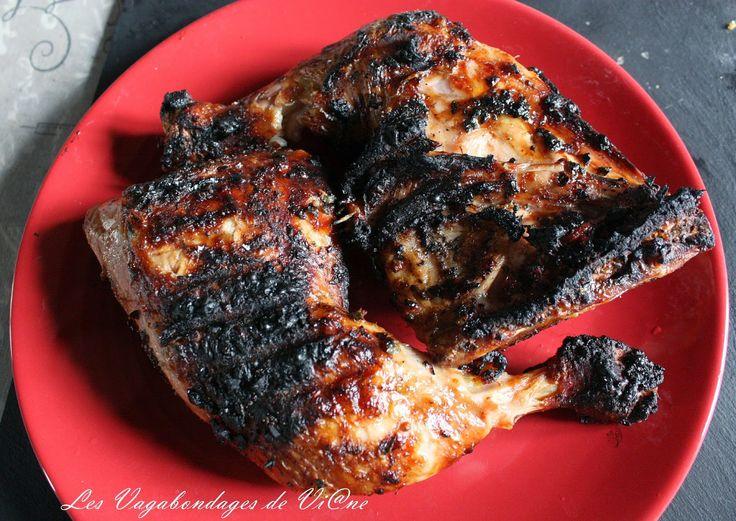 Les Vagabondages de Vi@ne: Cuisses de poulets marinées au barbecue