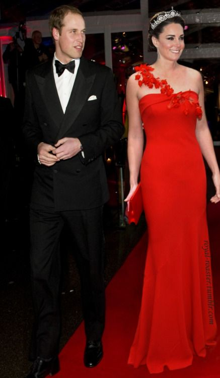 evening out-The Duke and Dutchess of Cambridge:
