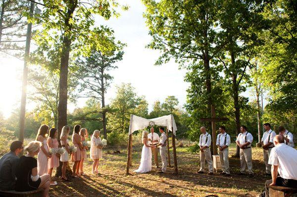 Intimate Rustic Backyard Wedding: 25+ Best Ideas About Small Wedding Ceremonies On Pinterest