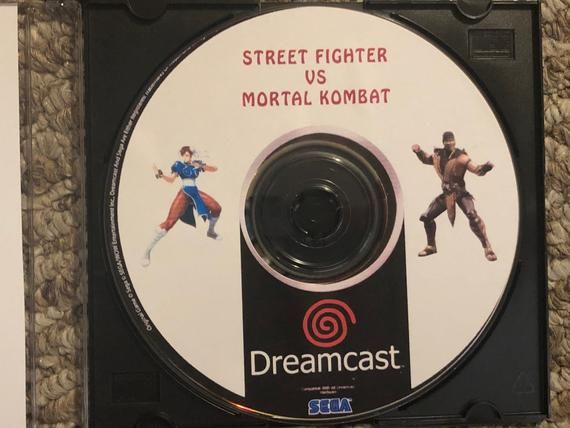 Street Fighter Vs Mortal Kombat Fan Made Sega Dreamcast Game In