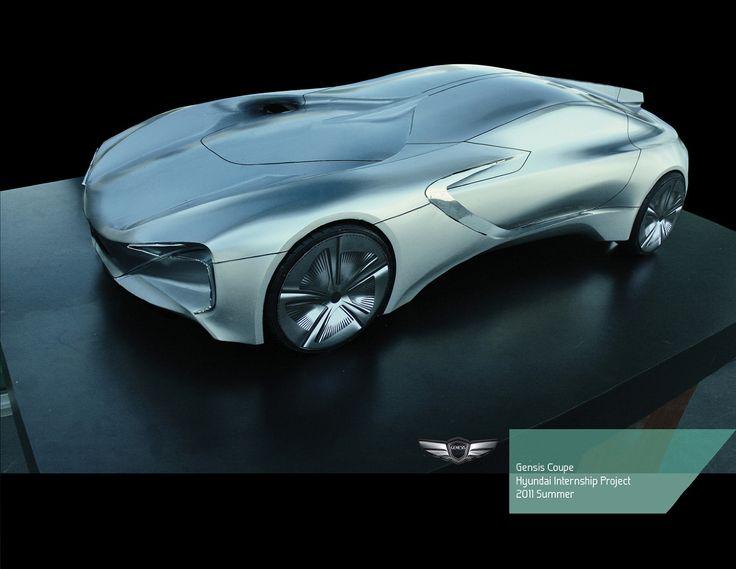 Genesis Coupe - Exterior - Woo Kim Design