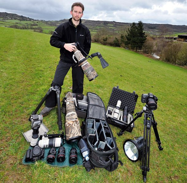 The professional photographer's camera bag: the perfect kit for versatile landscape photography