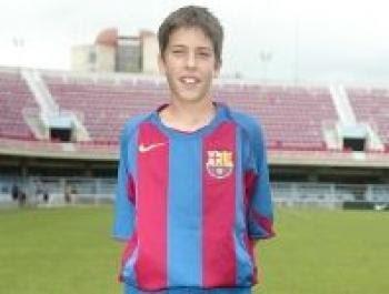 ~ A young Jordi Alba on FC Barcelona ~