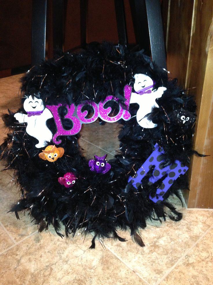 halloween wreath coole ideen pinterest ideen. Black Bedroom Furniture Sets. Home Design Ideas