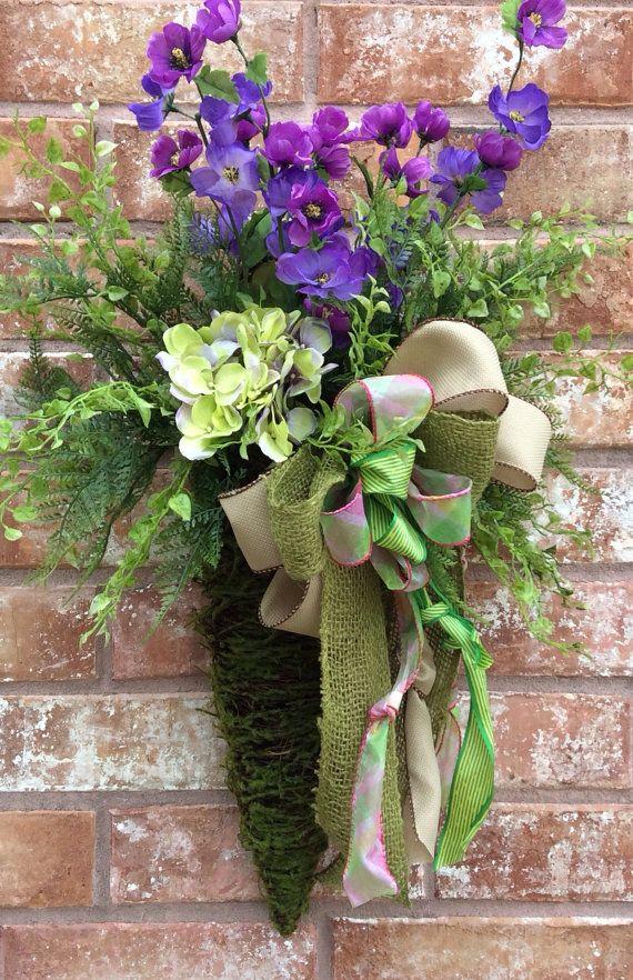 55 Best Wall Baskets Images On Pinterest Floral Arrangements