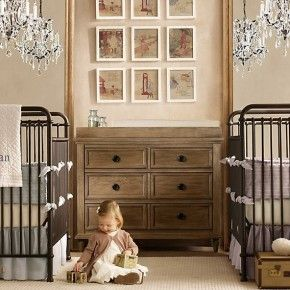 Baby Nursery Room Design Ideas – Twin boy girl baby room
