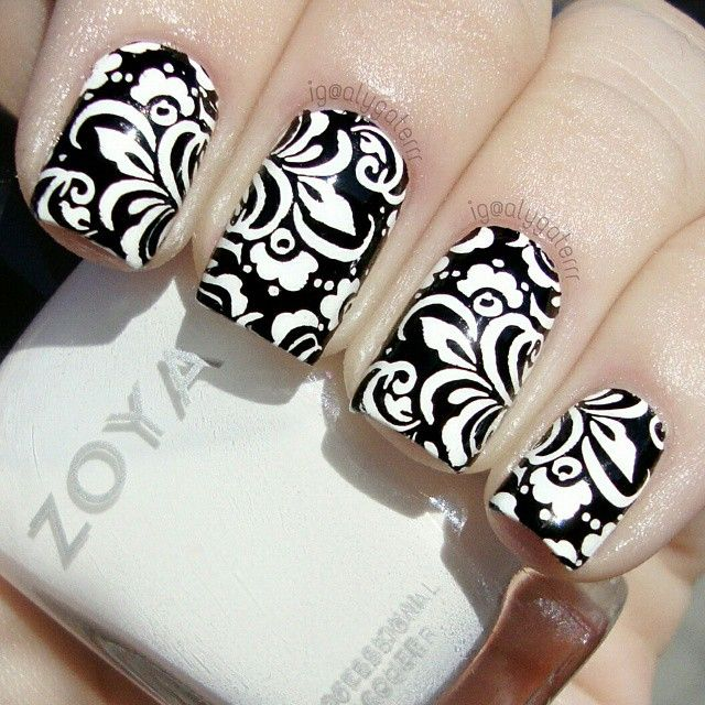 Nail Art Tangan: Instagram Media By Alygaterrr #nail #nails #nailart (With