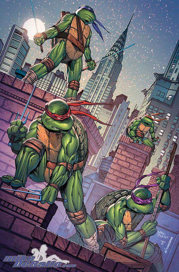 Teenage Mutant Ninja Turtles - NYCC by SquirrelShaver on DeviantArt