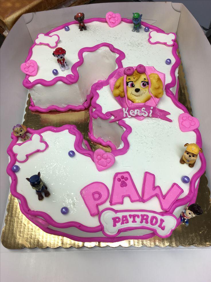 Pastel de la Patrulla Canina. Perfecto para una celebración temática.
