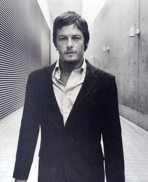 The gorgeous Norman Reedus. aka Daryl from Walking Dead. obsessed.