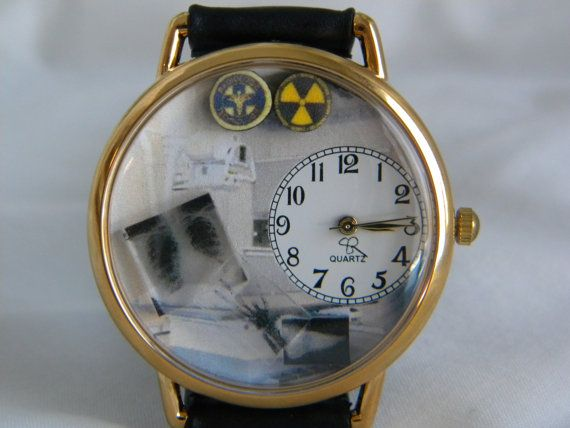 X-Ray OR Radiologist Technician Watch you by SunnyRiverCreations