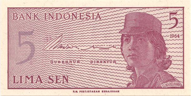 Motivseite: Geldschein-Asien-Indonesien-Rupiah-0.05-1964