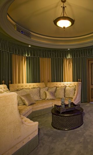 Recliner Sofa  Home Theater and Media Room Ideas