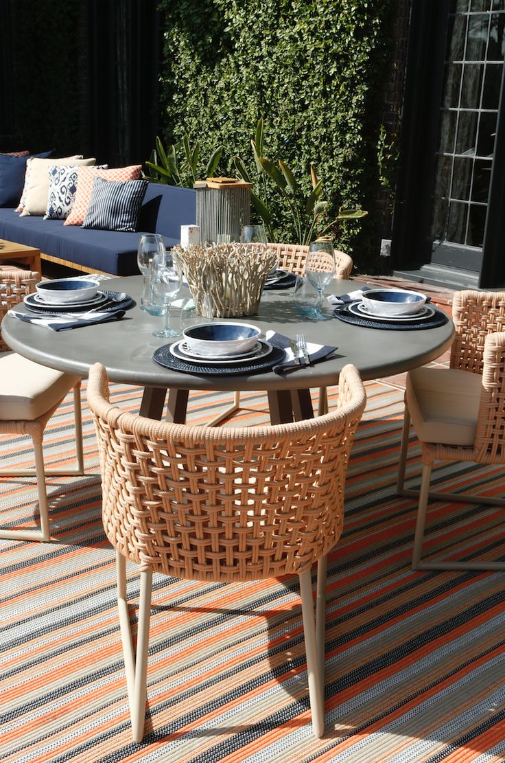 10 best outdoor rugs images on pinterest outdoor rugs sisal 2017 pasadena showcase house terrace outdoor dinning table baanklon Gallery