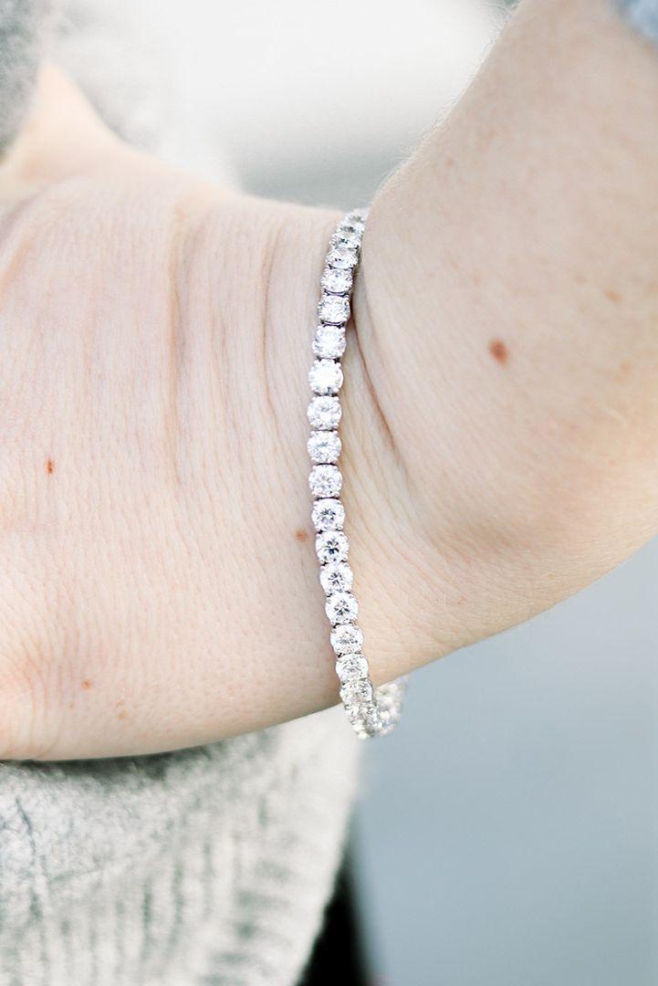 10 5ctw Four Prong Lab Diamond Tennis Bracelet Ada Diamonds In 2020 Diamond Custom Diamond Jewelry Jewelry Knowledge