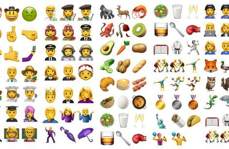 The new emoji update for iPhone features David Bowie emojis