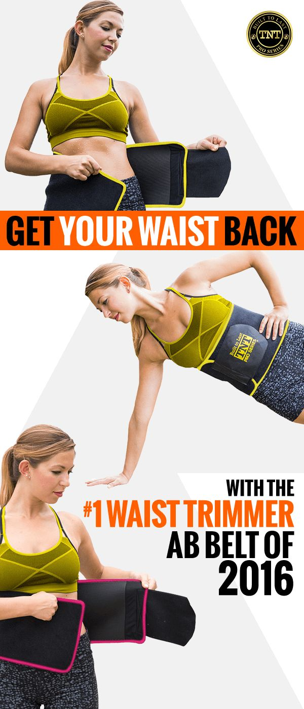 Get your sweat on with TNT Pro Series Waist Belt Trimmer. With this belt, you'll turn your body into your own personal hot sauna just by putting it on! The secret is in the special heat generating Neoprene rubber used on the inside of the belt, which helps trap body heat! Learn more today.